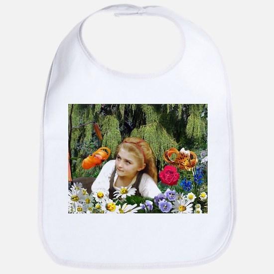 In The Garden Of Live Flowers Bib