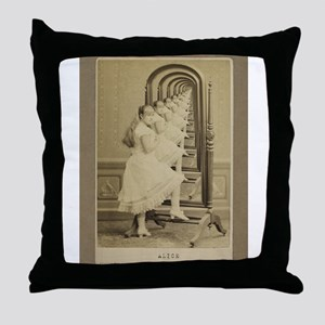Alice (Through The Looking Gl Throw Pillow