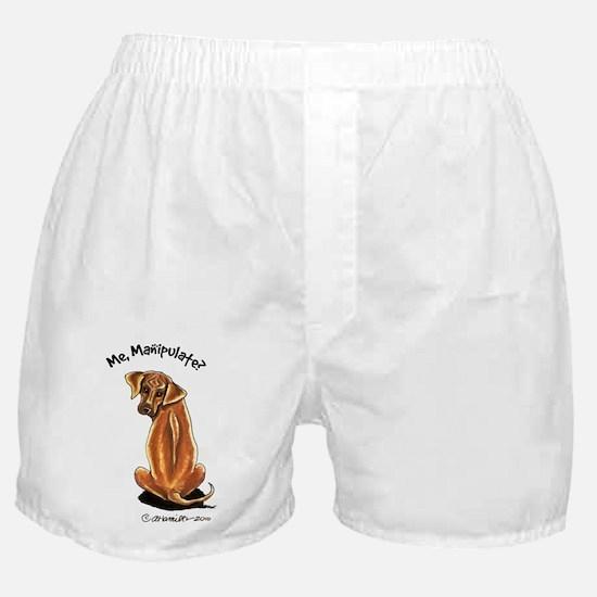 Rhodesian Ridgeback Manipulate Boxer Shorts