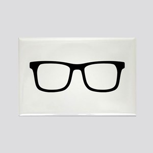 Glasses Rectangle Magnet