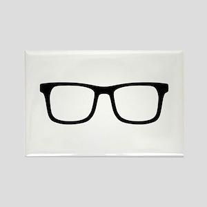 Glasses Rectangle Magnet