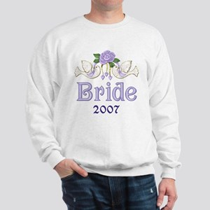 Dove & Rose - Bride Purple Sweatshirt
