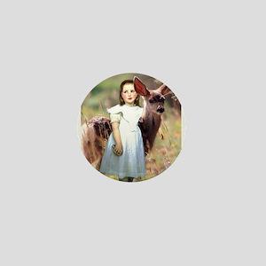 Alice & The Fawn Mini Button