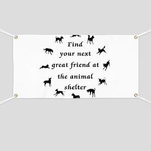 Adopt a Dog Banner