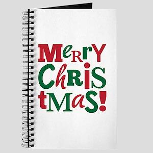 """Merry Christmas"" Journal"