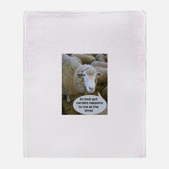 Carded, eh? Throw Blanket