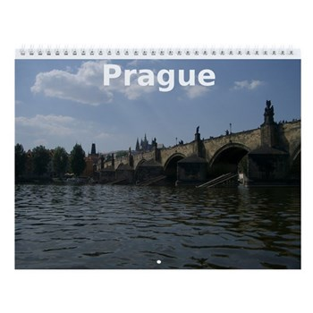 Prague Wall Calendar
