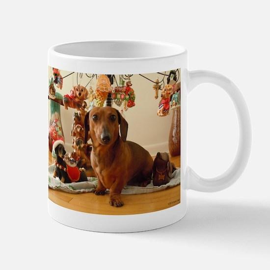Christmas Dachshund (Ver. 1) Mug