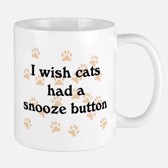 Cats Snooze Button Mug
