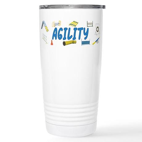 Agility Stainless Steel Travel Mug