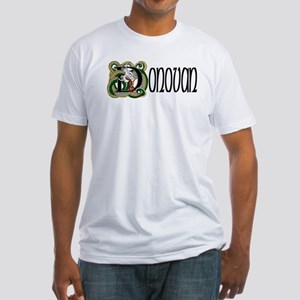 Donovan Celtic Dragon Fitted T-Shirt