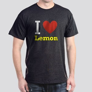 I Love Lemon Dark T-Shirt