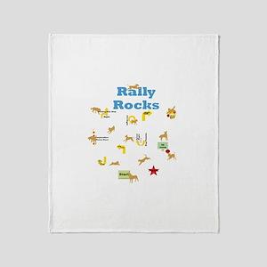 Rally 4 Throw Blanket