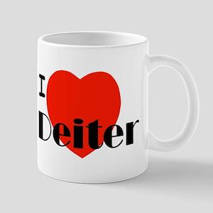I Love Deiter Mug