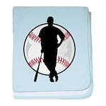 Baseball Catch baby blanket