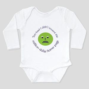 Inventive Envy Long Sleeve Infant Bodysuit