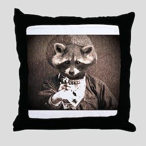 El Bandido Enmascarado (The M Throw Pillow
