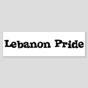 Lebanon Pride Bumper Sticker