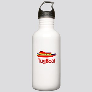 Red Tug Boat Stainless Water Bottle 1.0L
