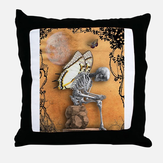 Mind The Thorns Throw Pillow