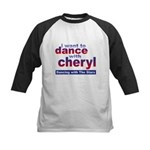 I want to Dance with Cheryl Kids Baseball Jersey