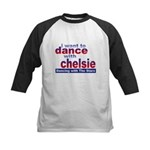 I want to Dance with Chelsie Kids Baseball Jersey