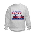 I want to Dance with Chelsie Kids Sweatshirt