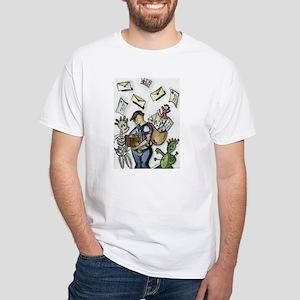 A Bit Postal White T-Shirt