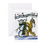 Christmas Tune & Magic Too Greeting Cards (Pk of 1