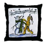 Christmas Tune & Magic Too Throw Pillow