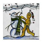Christmas Tune & Magic Too Tile Coaster