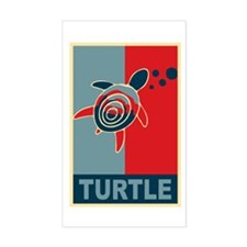 Turtle Hope Sticker (Rectangle)