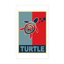 Turtle Hope Sticker (Rectangle)