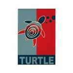 Turtle Hope Rectangle Magnet (100 pack)