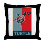 Turtle Hope Throw Pillow