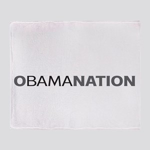 Anti Barack Obama Throw Blanket