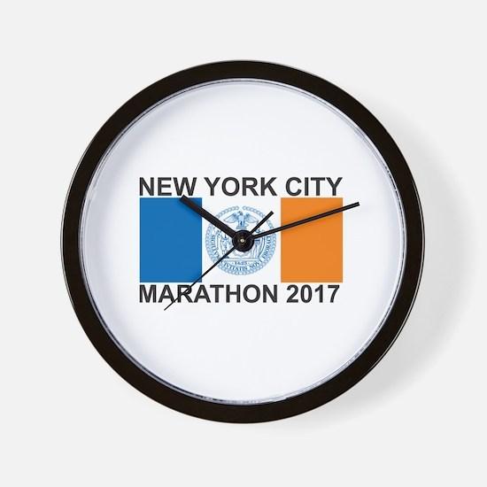 2017 New York City Marathon Wall Clock