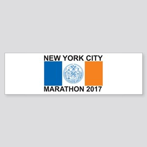 2017 New York City Marathon Sticker (Bumper)