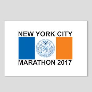2017 New York City Marathon Postcards (Package of