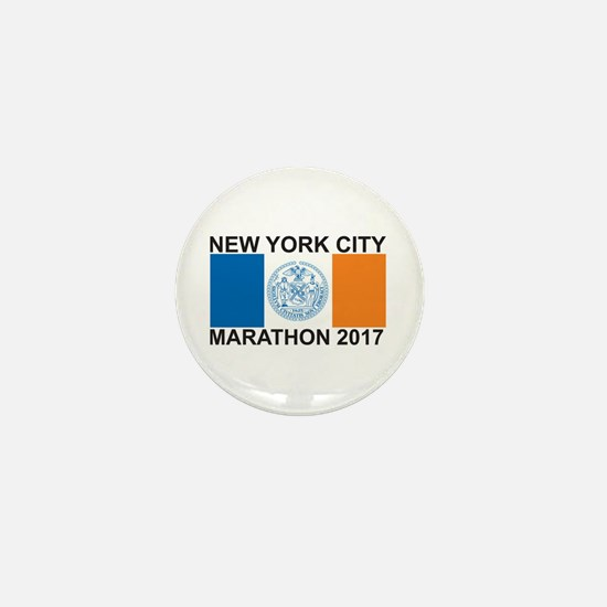 2017 New York City Marathon Mini Button