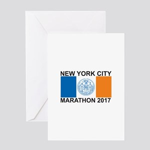 2017 New York City Marathon Greeting Card
