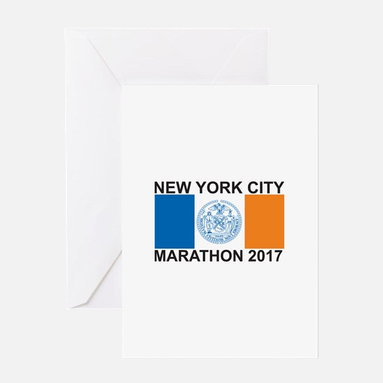 2017 New York City Marathon Greeting Card