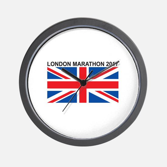2017 London Marathon Wall Clock