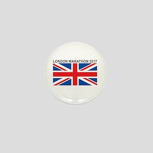 2017 London Marathon Mini Button