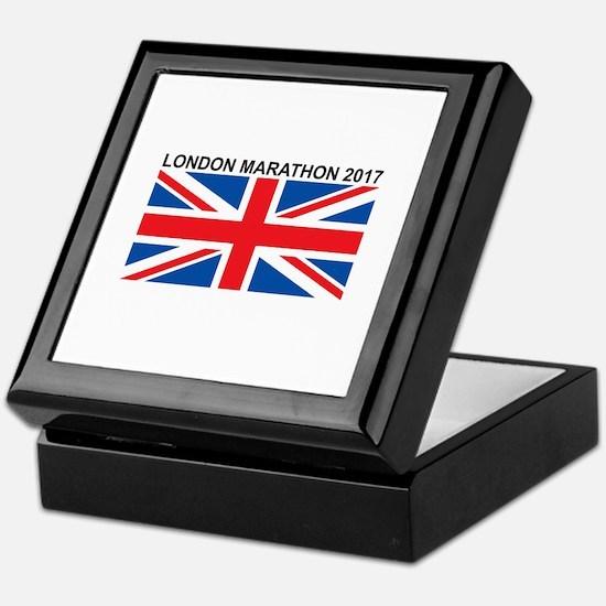 2017 London Marathon Keepsake Box