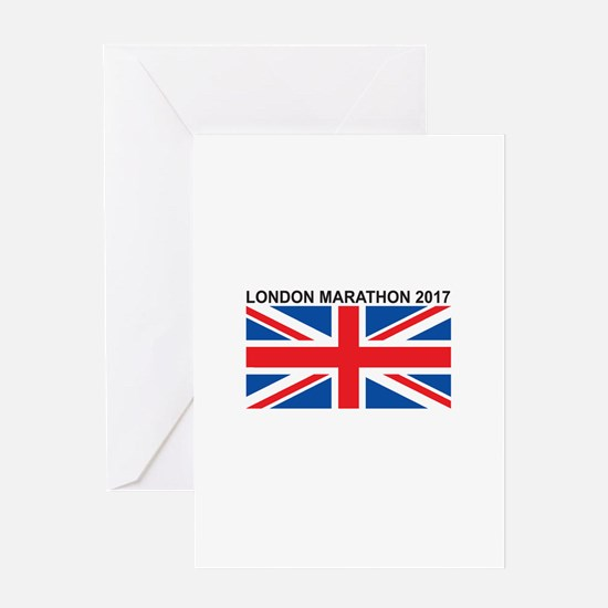 2017 London Marathon Greeting Card
