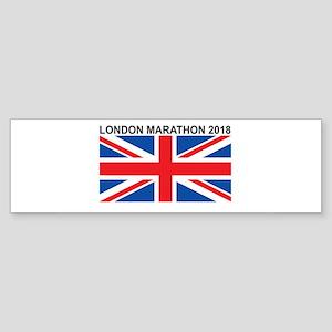 2018 London Marathon Sticker (Bumper)