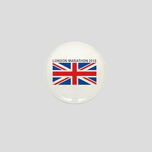 2018 London Marathon Mini Button