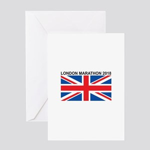2018 London Marathon Greeting Card