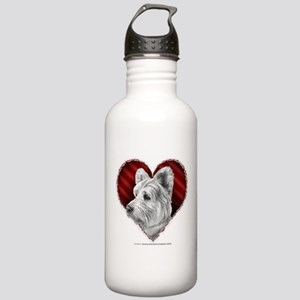 Westie Valentine Stainless Water Bottle 1.0L